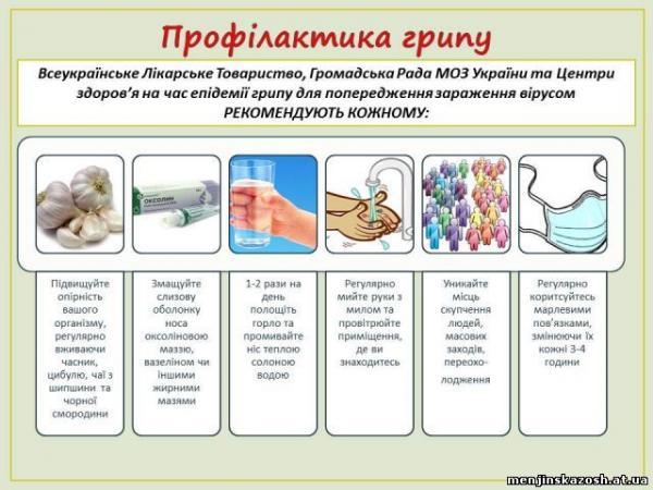 """Результат пошуку зображень за запитом """"профілактика грві та грипу у школярів"""""""